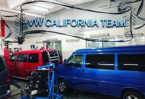 Galeria VW California TEAM